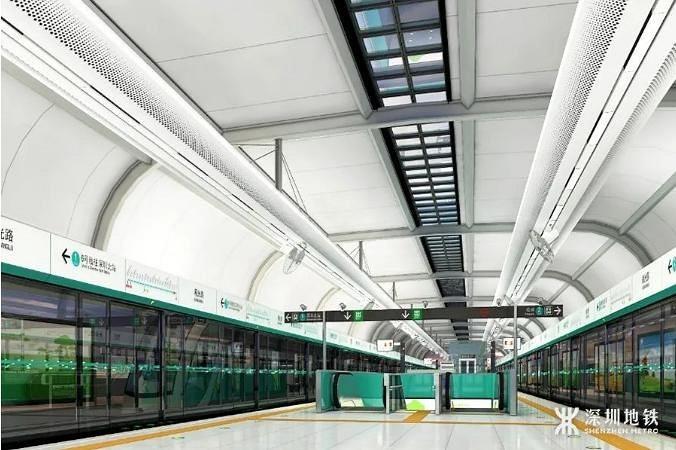 【华宝智造】助力粤港澳大湾区建设发展,祝贺深圳地铁6号线二期正式开通!