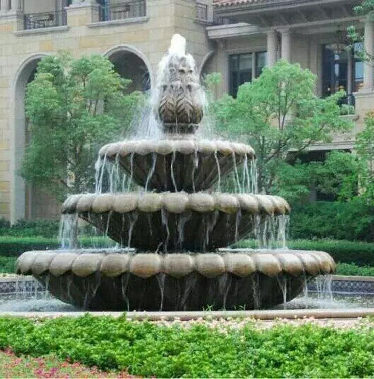石雕喷泉的用途与材质小知识