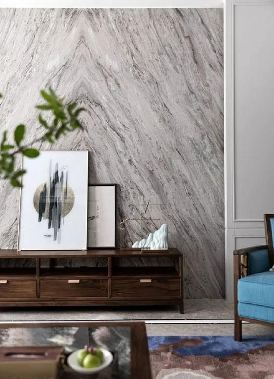 大理石与家具搭配呈现高品位档次
