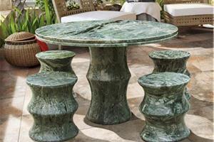 竹节小圆桌