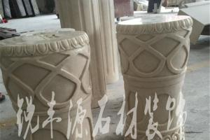 柱子雕刻图