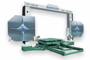 FRT-3000 工作台360度旋转修边绳锯