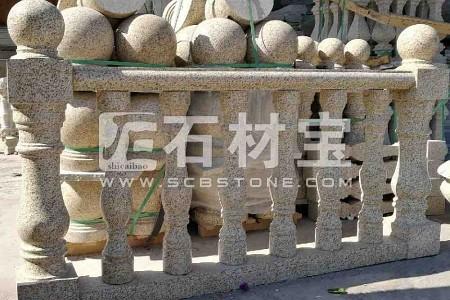 黄金麻扶手  花瓶柱