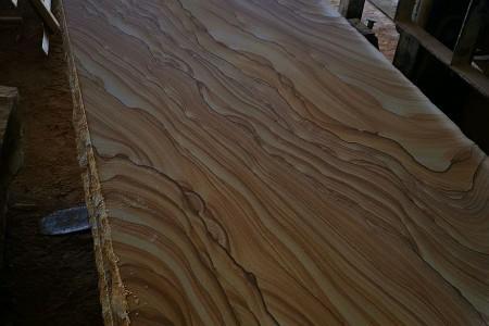 山水纹砂岩毛板