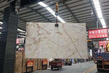白水晶大板展示