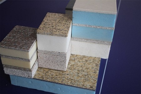 仿石饰面保温复合板