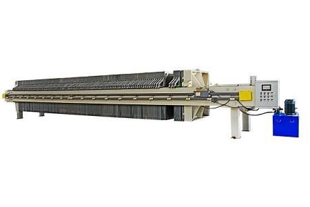 程控自动1250型厢式压滤机