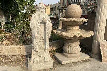 人物雕刻&喷泉