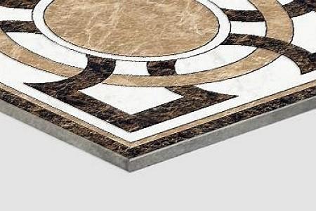拼花+铝塑板复合板