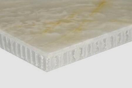 石材透光蜂窝复合板