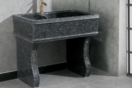 蓝珍珠室内工艺原石洗衣池