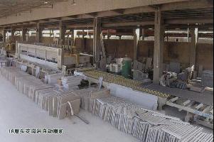 16磨头花岗岩自动磨机