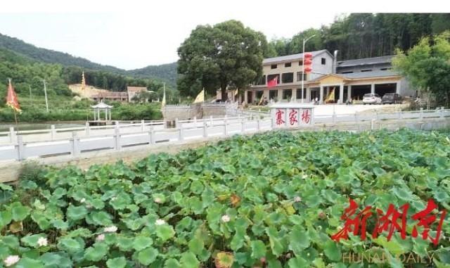 昔日麻石厂 今日度假村