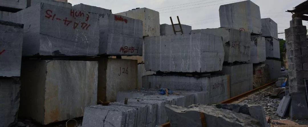 黑白根产地提倡石材一条街,对石材加工业进行整治!