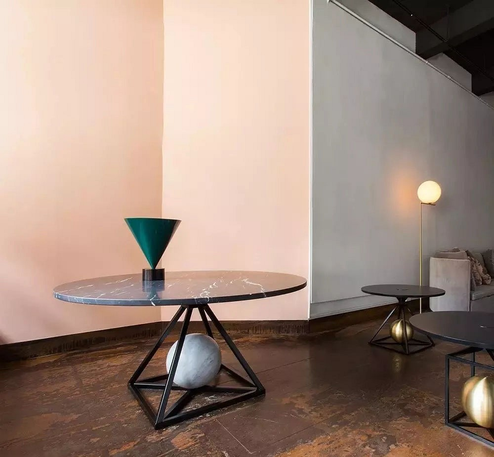 设计感这么强的大理石花岗岩桌椅,你一定没见过