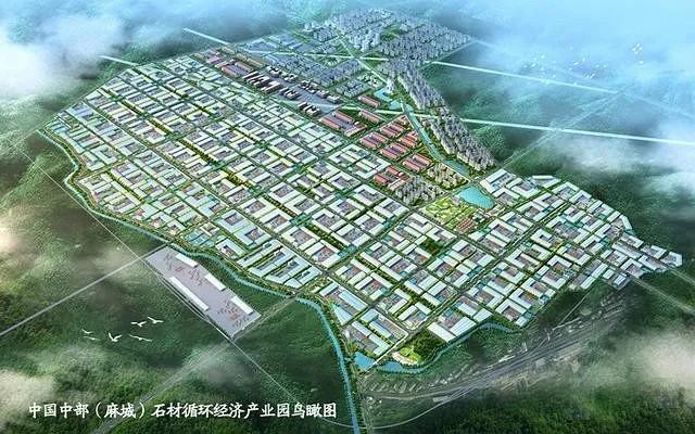 """麻城为什么发展这么快?因为麻城有""""石材矿""""!"""