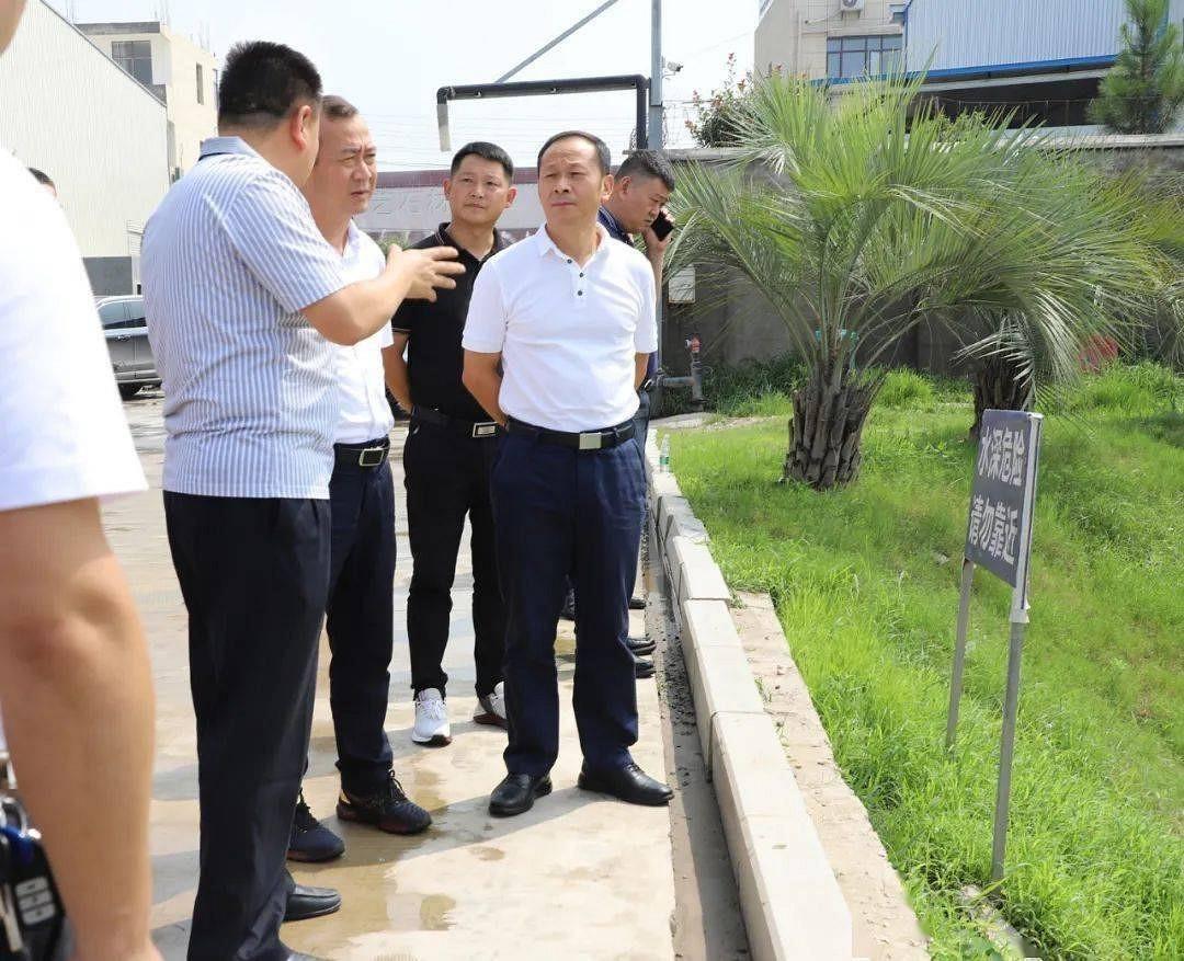 兴山县委书记一行莅临麻城石材产业园考察调研