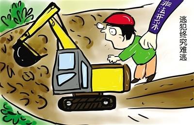 非法采矿、破坏性采矿执行最严入罪标准!