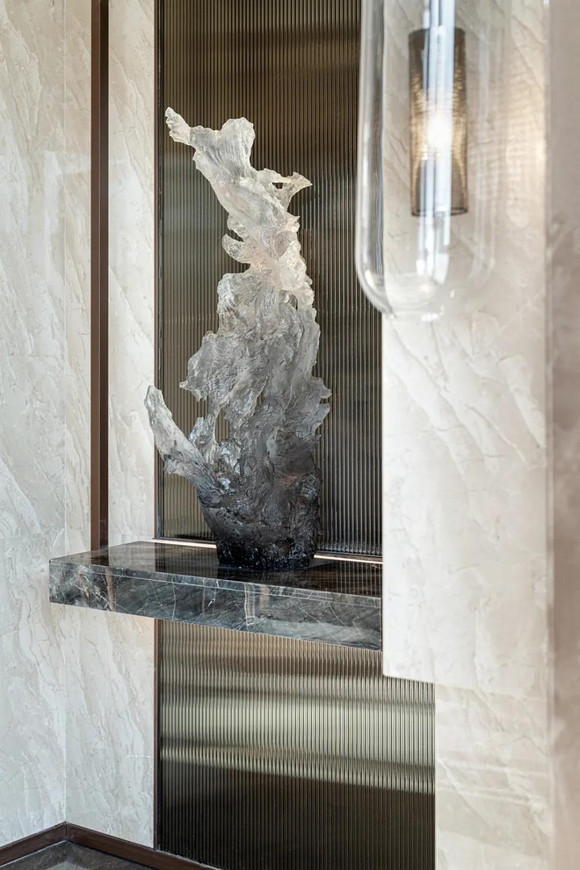 以简意奢,石材打造平静内敛的东方禅意之美!
