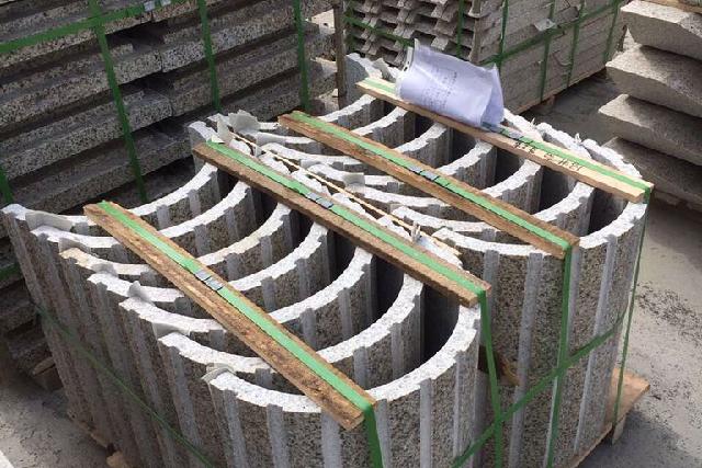 异型加工-锈石罗马柱