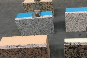 白麻复合保温石材一体化