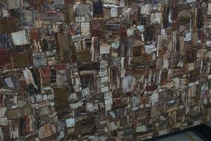 半宝石木化石大板