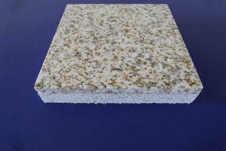黄金麻花岗岩保温一体化复合板