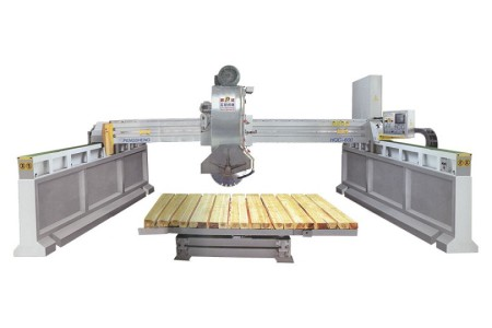 HQC-400-600红外线电子导柱式切石机
