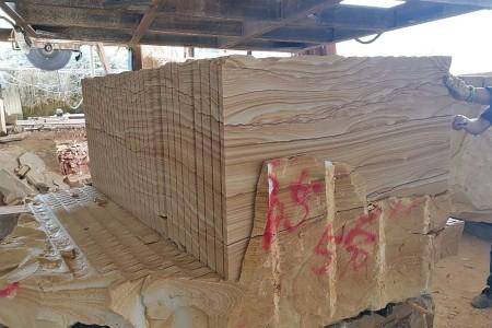 精品山水纹定尺出口壁炉料