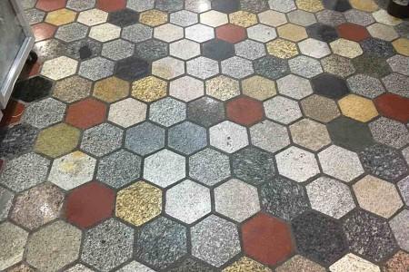 六角砖杂色