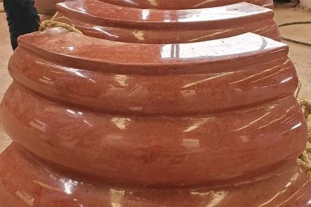 中国红圆柱柱脚