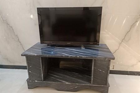 卡地亚灰电视桌