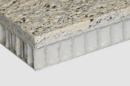 石材铝蜂窝复合板