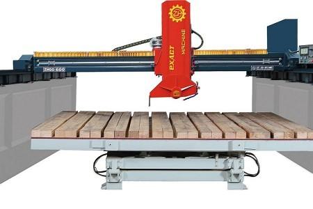 ZHQQ-600 四导柱红外线桥式切石机
