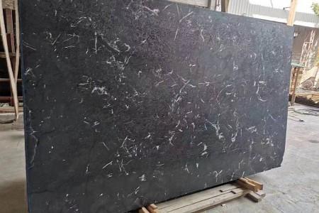 黑郁冰花皮革面大板