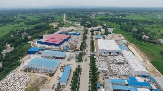 河南罗山石材工业区