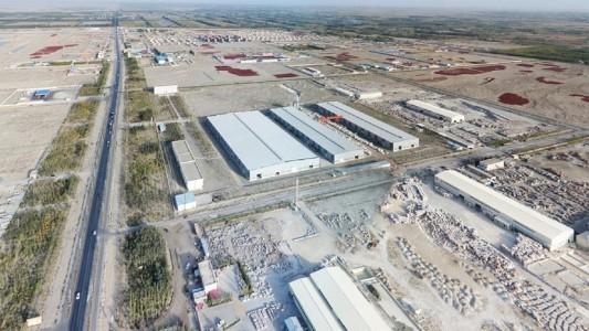 新疆和硕工业区
