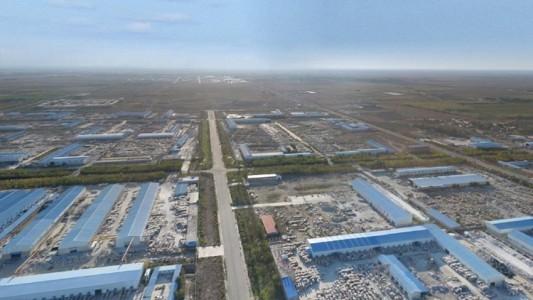 新疆奇台卡拉麦里金工业区
