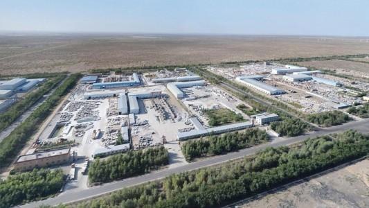 新疆哈密南湖工业区