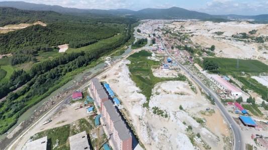 吉林蛟河天岗石材工业区