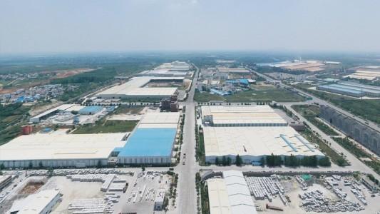 河南内乡石材工业区