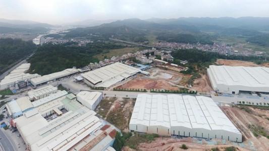 广东省云浮思劳工业区