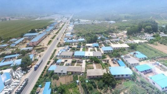 辽宁盖州石材工业区