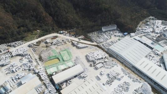四川青川石材工业区