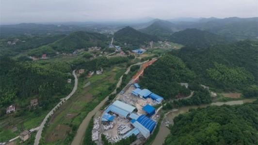 湖南衡阳东山村工业区