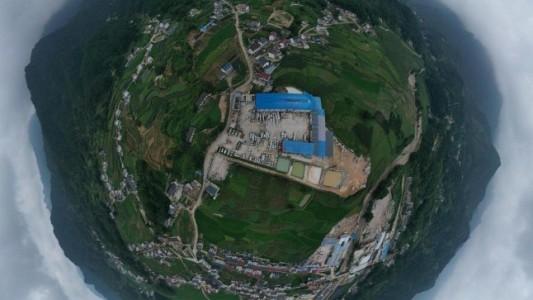 安徽潜山石材工业区